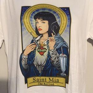Tops - Pulp Fiction Mia T Shirt tee